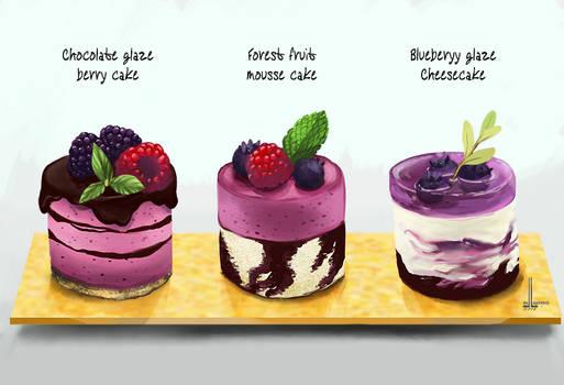 Choice of bite sized desserts
