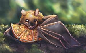 Fruit bat by DesigningLua