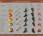 Halloween Digital Art Tutorial (Step By Step) by AkiraAlion