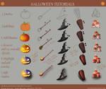 Halloween Digital Art Tutorial (Step By Step) by AkiraAlion