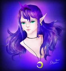 Princess Luna by AkiraAlion
