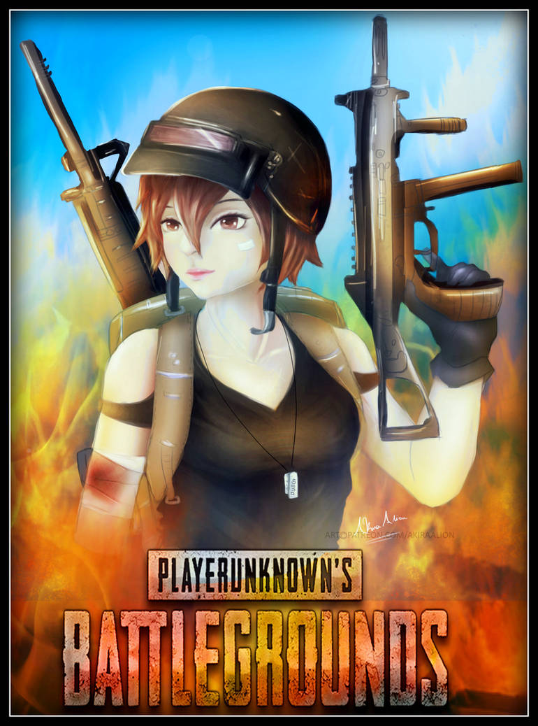 Pubg Girl Poster By Akiraalion