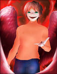 Garfield- Possessed Form by AkiraAlion