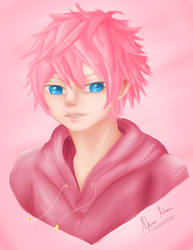 Commission- Kirby (Gijinka form) by AkiraAlion