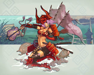 Last Samurai by Derlaine8
