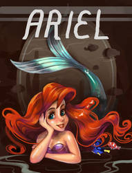Ariel featuring Nemo by Derlaine8