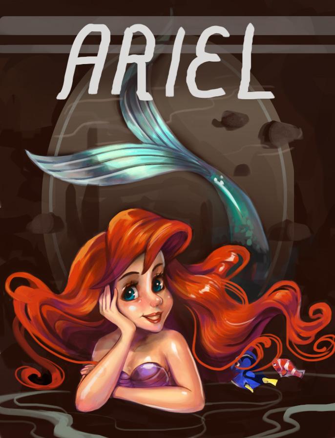 Ariel featuring Nemo by Derlaine8