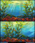 Kelp Forest by Derlaine8
