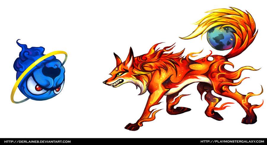 Firefox Vs Internet Explorer By Derlaine8 On DeviantArt