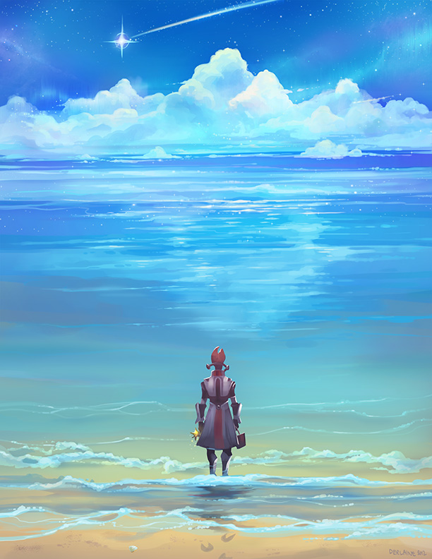 Seashores of Eternity by Derlaine8