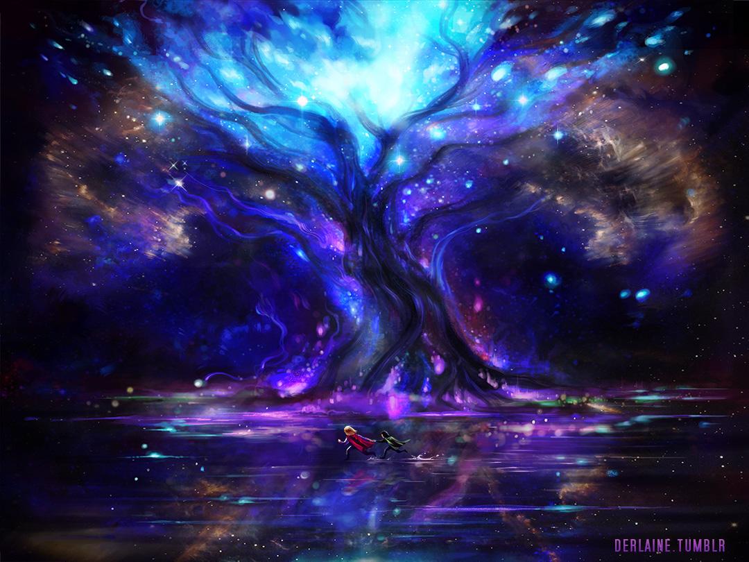 Yggdrasil by Derlaine8