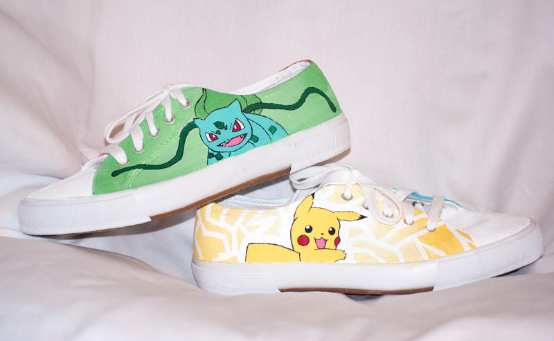 Pokemon Sneakers by HungryxHungryxHippos
