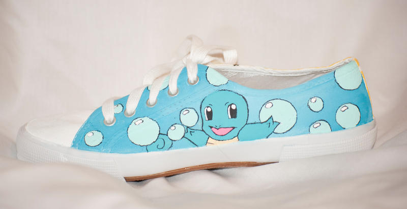 Squirtle Shoes by HungryxHungryxHippos