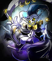 Jevil, the Jester of Chaos.