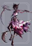 Kaz Ashura: The Corpse Dancer by NeonN0ir