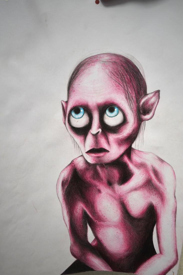 Gollum by PinkFloydian1