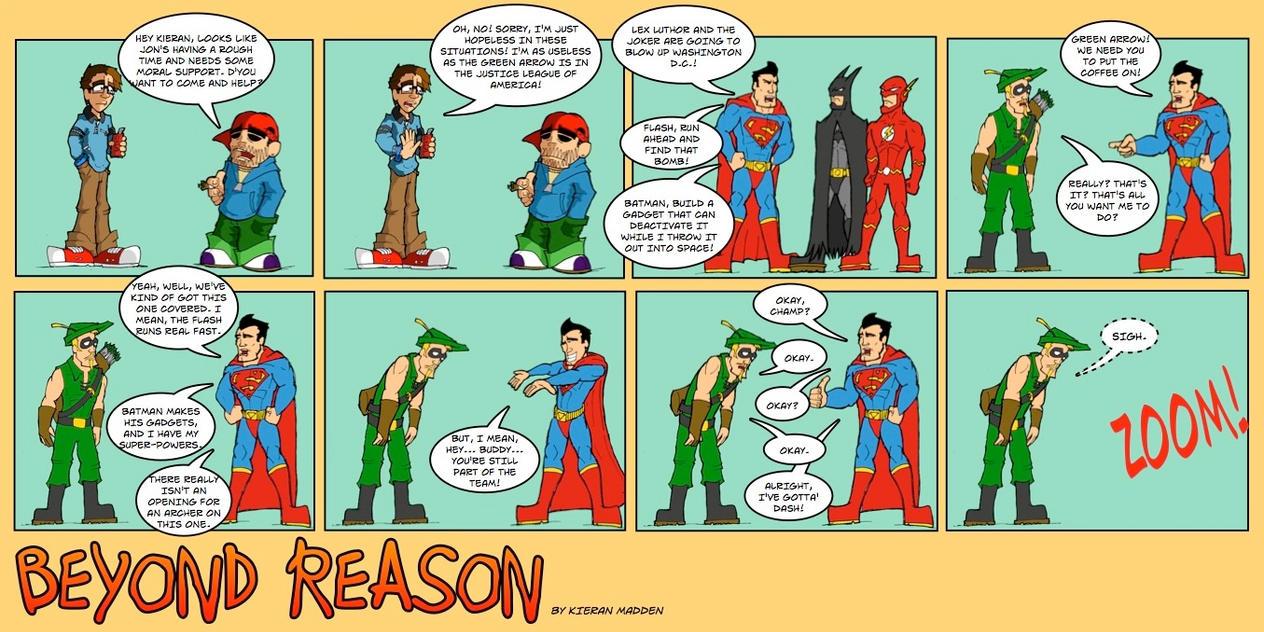 Beyond Reason Green Arrow Green Arrow Beyond