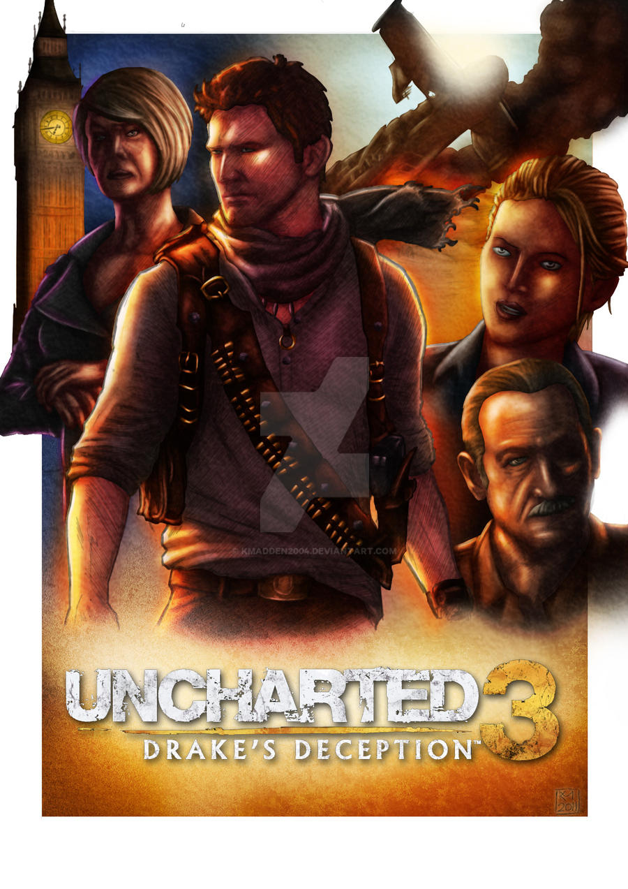 Uncharted 3 FINAL coloured by Kmadden2004