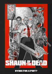 Shaun of the Dead by Kmadden2004