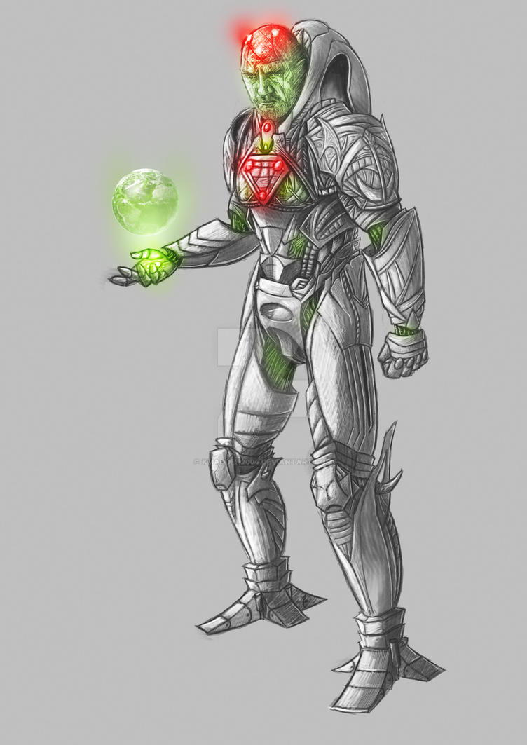Man of Steel: Brainiac Concept by Kmadden2004