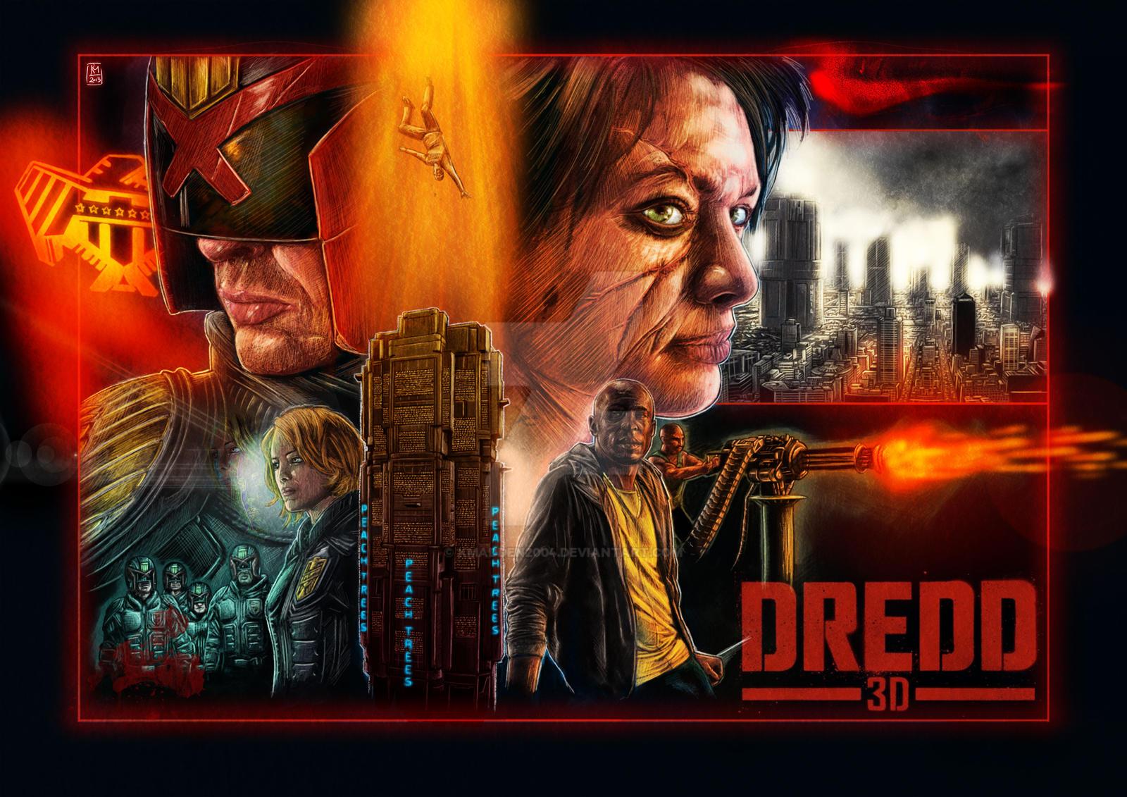 Dredd 3D by Kmadden2004