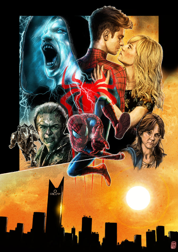 Amazing Spider-Man 2 by Kmadden2004