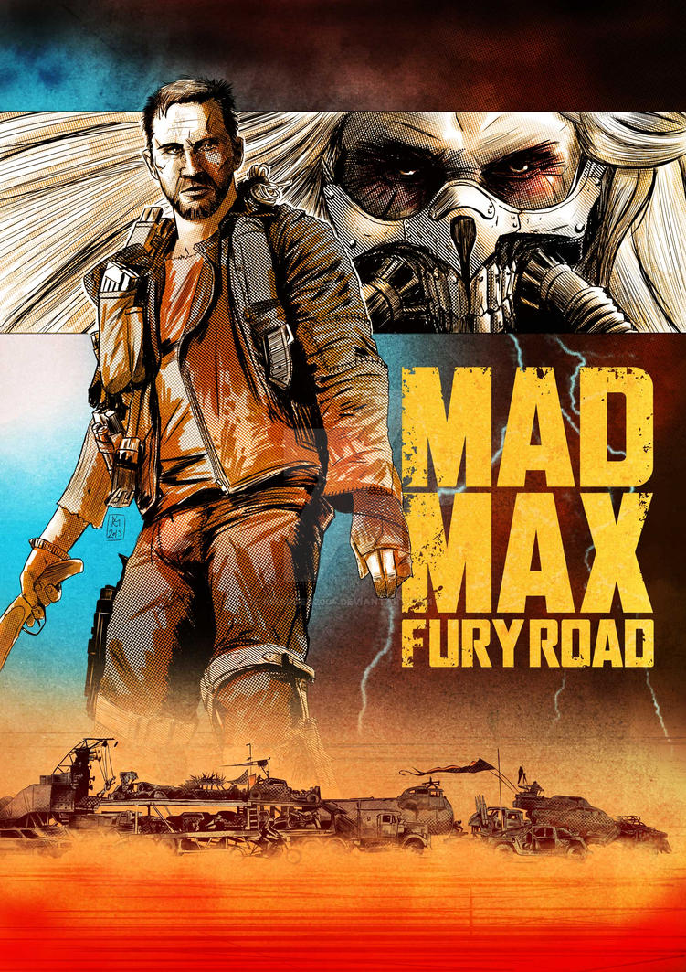 Mad Max Fury Road by Kmadden2004