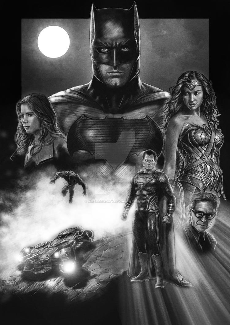 Batman v Superman by Kmadden2004