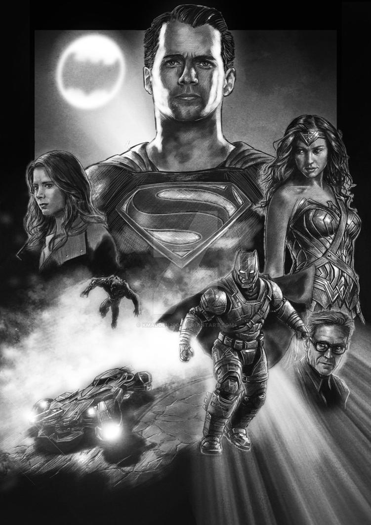 Superman v Batman by Kmadden2004