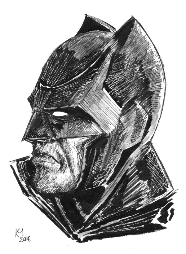 Weekly Sketches: Batman by Kmadden2004