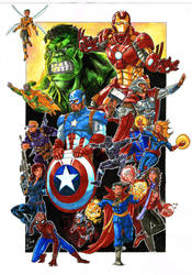 The Avengers (Traditional Colour) by Kmadden2004