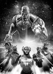 The Black Order (Mono Variant) by Kmadden2004