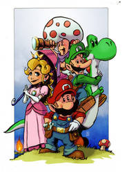 The Super Mario Brothers by Kmadden2004