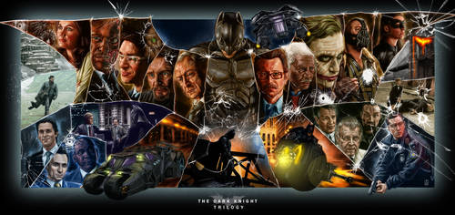 The Dark Knight Trilogy (Remastered) by Kmadden2004