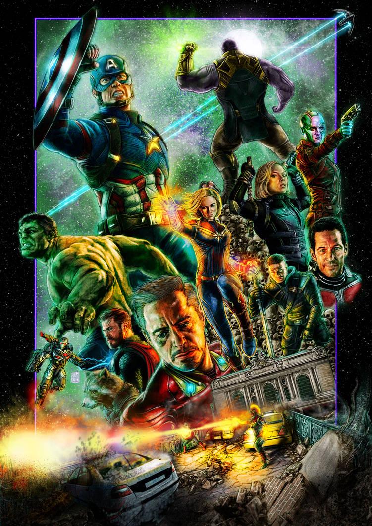 Avengers: Endgame by Kmadden2004