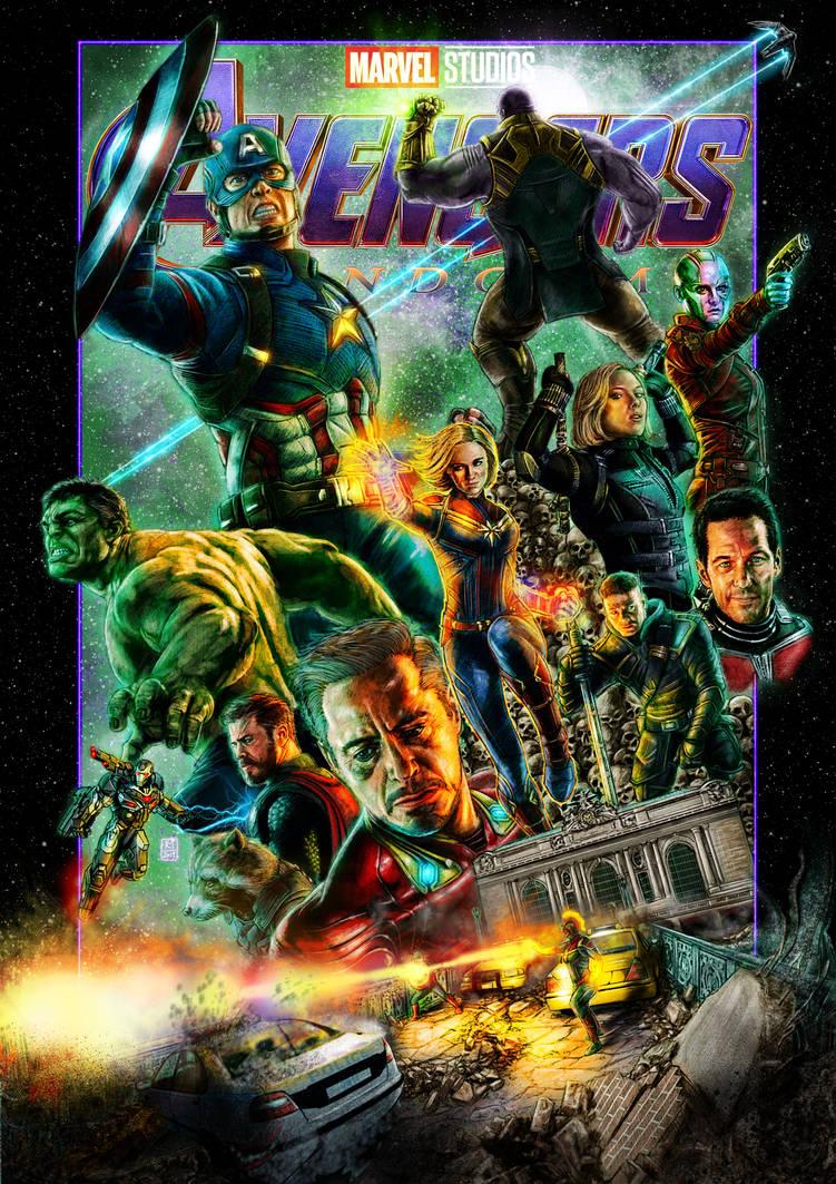 Avengers: Endgame (Title Variant) by Kmadden2004