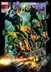 Avengers: Endgame (Comic Variant) by Kmadden2004