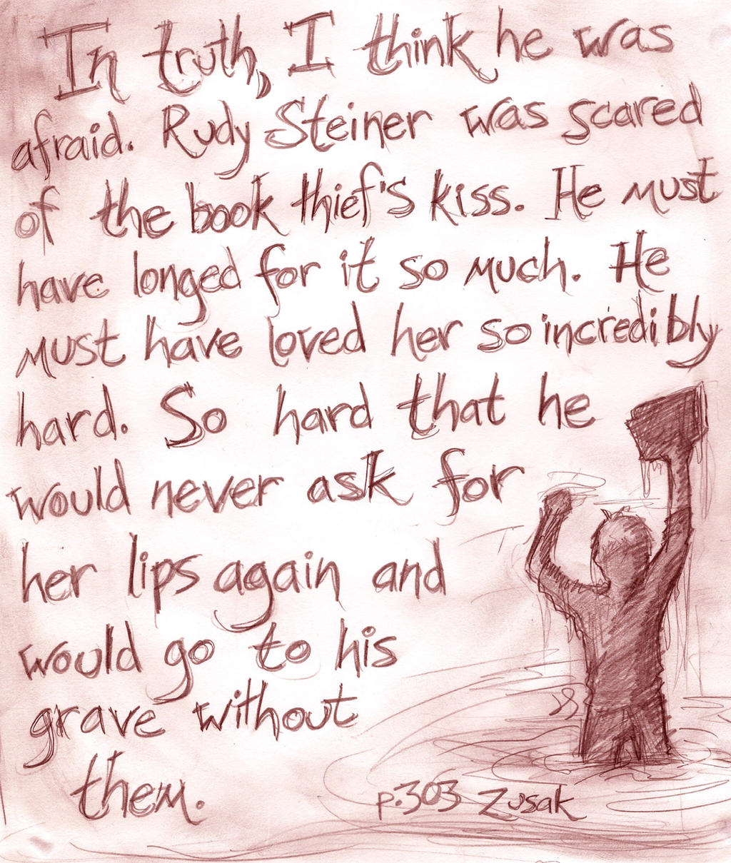 Rudy Steiner The Book Thief Quotes: The Floating Book (BOOK THIEF SPOILERS) By Evanola On