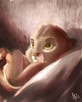Baby Simba, The Crown Prince of The Pride Rock by frostharmonic
