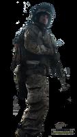 Battlefield 3 Soldier Render by MestroJuve10