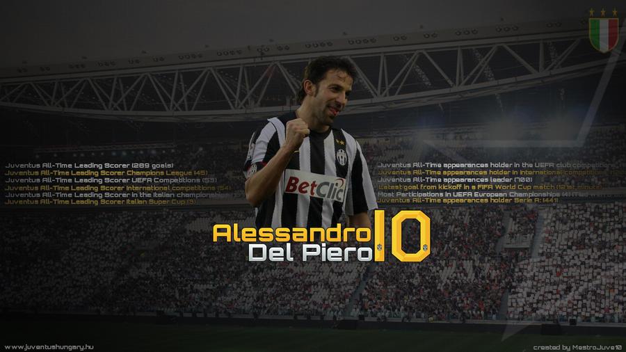 Alessandro Del Piero HD Wallpaper by MestroJuve10 on ...