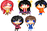 Tamokostar21 Pixel Icon Batch by RoyalsForever