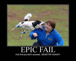 Epic Fail by cybeastwarrior