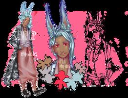 [OPEN] Avant Garde Bunny Boy Adopt by elvy-shelter