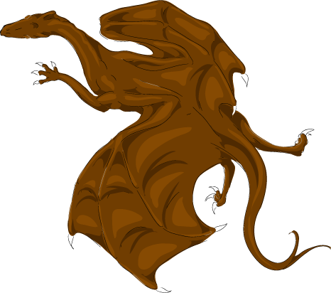 Dragon Information Pern_Color_Test__Brown_by_Kaljaia