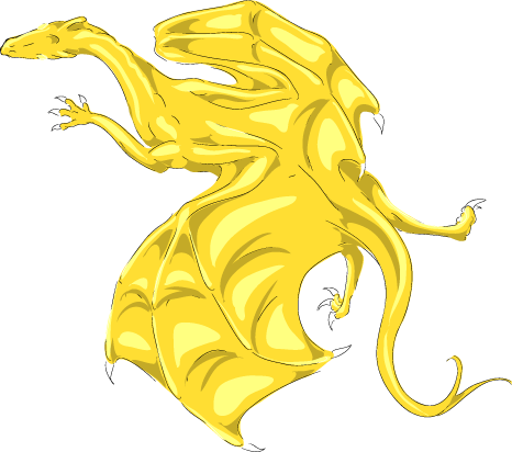 Dragon Information Pern_Color_Test__Gold_by_Kaljaia