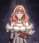 Celica fanart - Fire Emblem Echoes