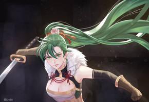 Blade Lord Lyn - Spirited Noblewoman fanart