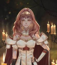 Fallen Celica - Fire Emblem Echoes by AztoDeus