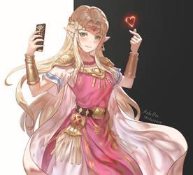 Zelda loves you by AztoDeus